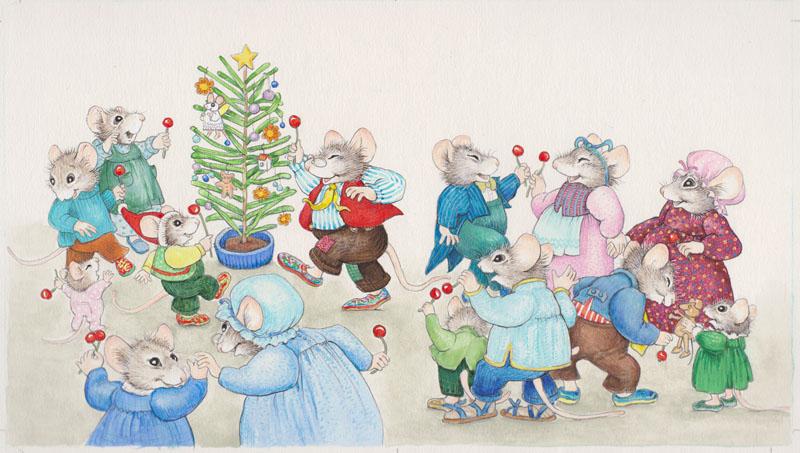 Around the Christmas Twig 6_5x11_5