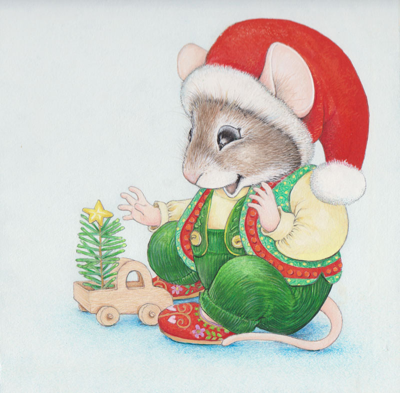 Christmas Mouse Cover
