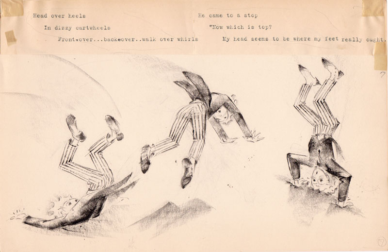 Dizzy Cartwheels