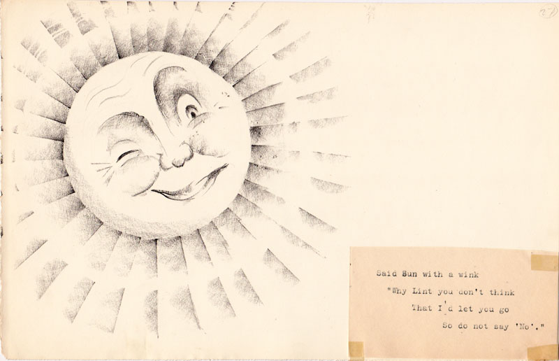 Said Sun With a Wink