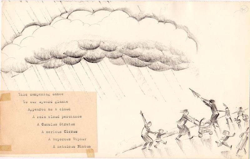 A Rain Cloud Perchance