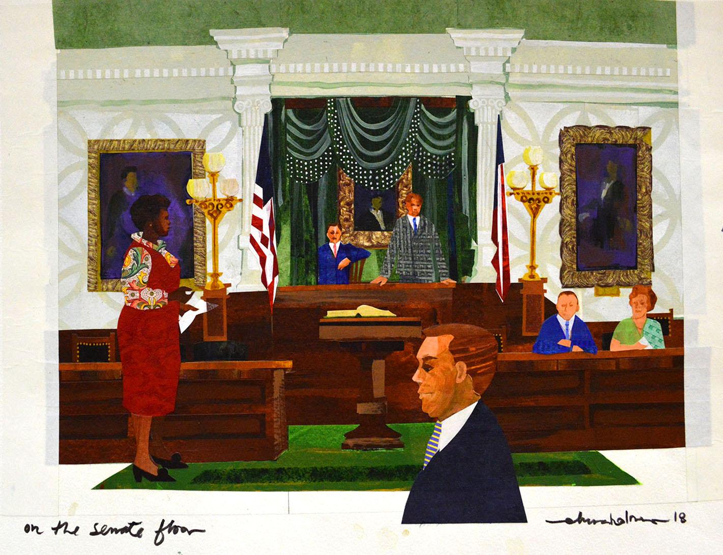 On the Senate Floor