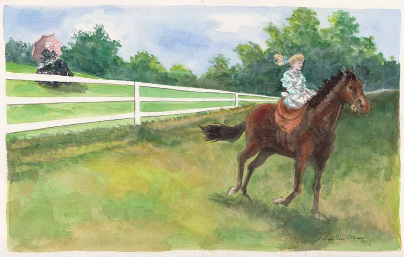 Mrs. Stanton's Horse