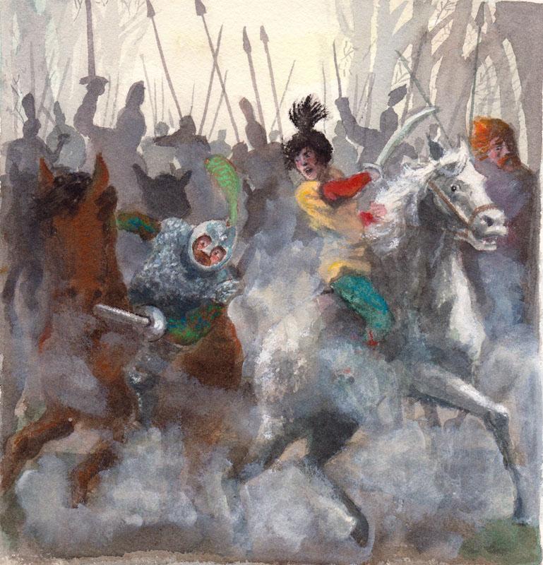 Mounted a Rebellion