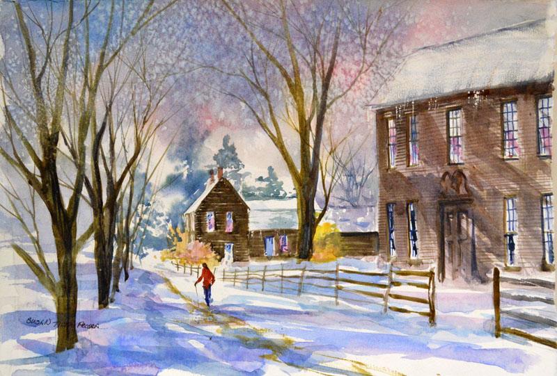 Historic Deerfield, Winter