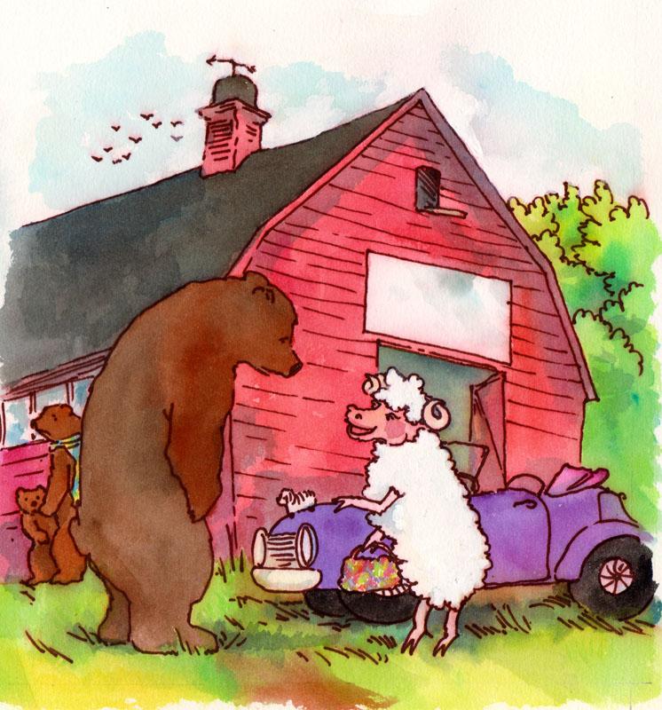 Speaking to Sheep