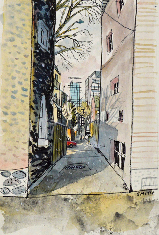 Alleys Can Be Good Shortcuts Study
