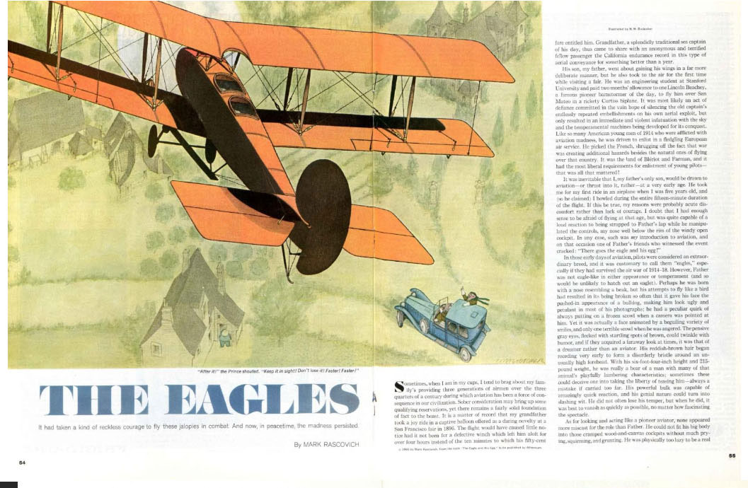 The Eagles Magazine Page