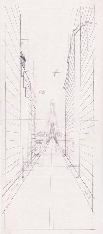 Bridge Perspective Study