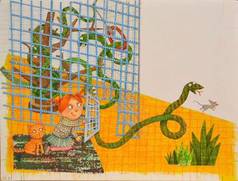 Snake Cage