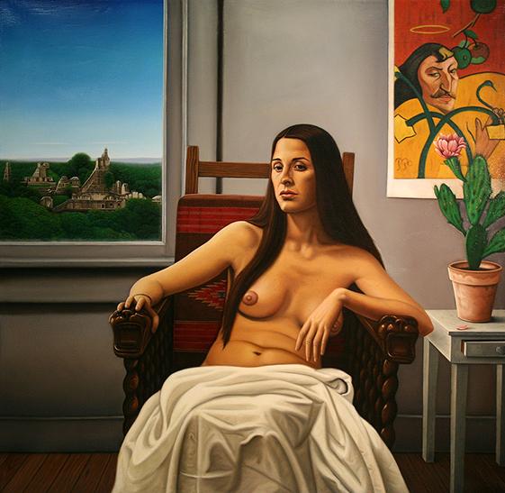 Portrait of Mona