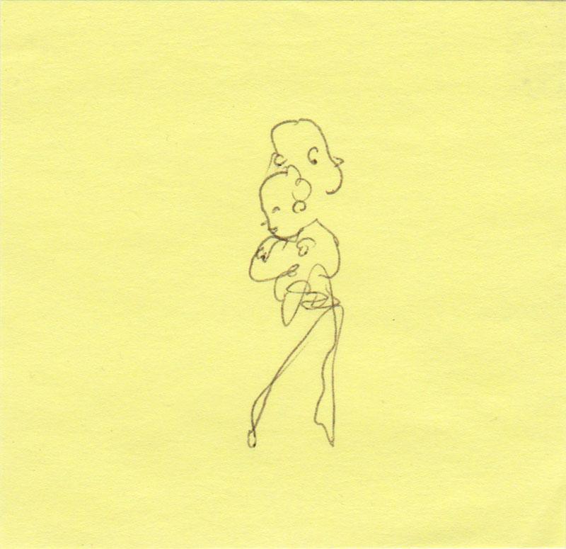 Post-it Hug