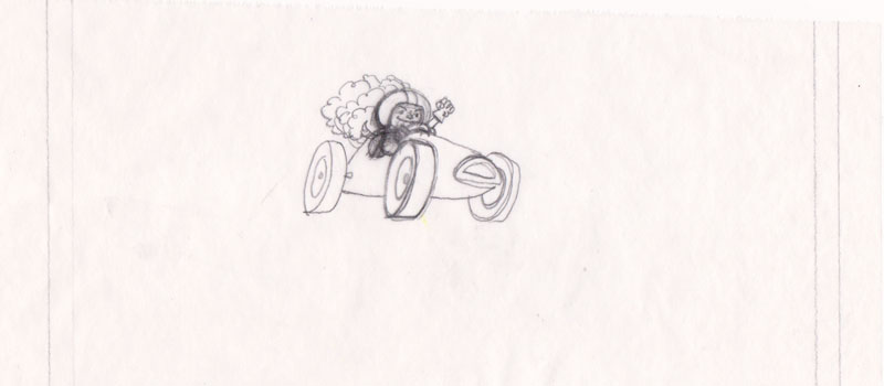 Tracing Paper Racer