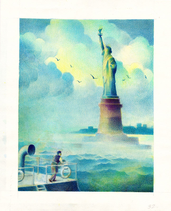Abraham Rejoiced to See the Statue of Liberty