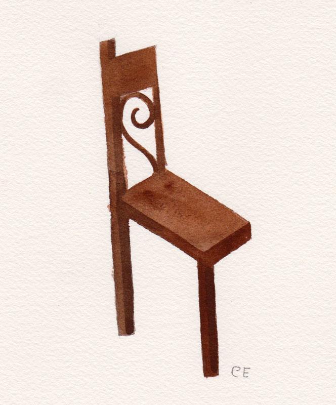 Half Chair Study I