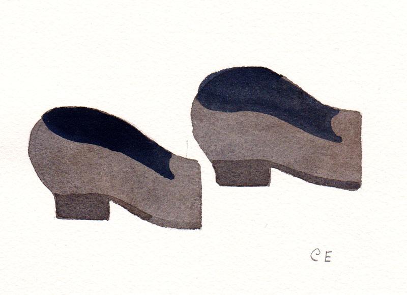 Half Shoes Study