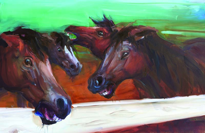 Angry Horses