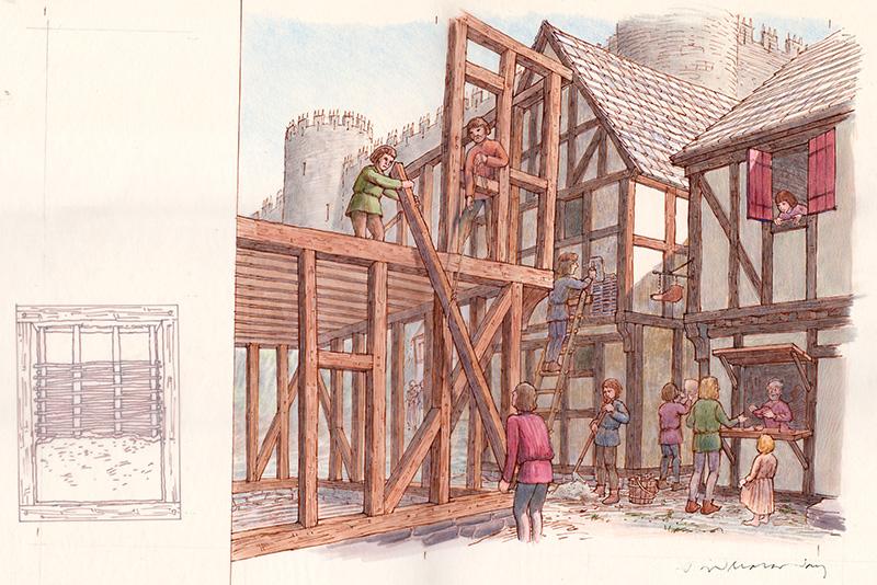 Half-Timber Construction