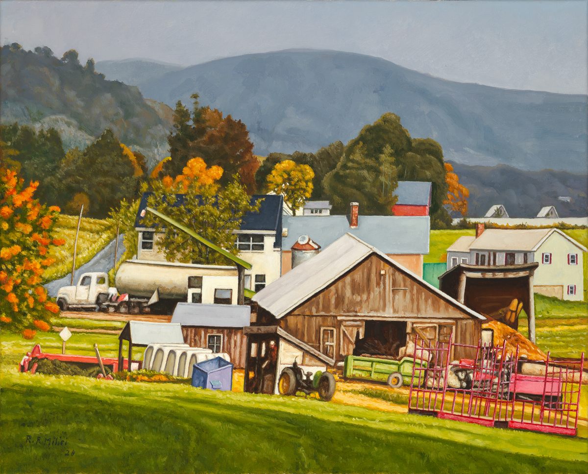 Whately Farm Scene