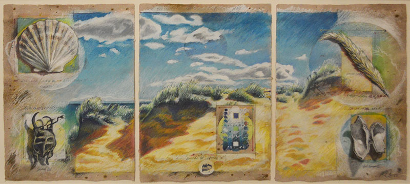 Wellfleet National Seashore triptych