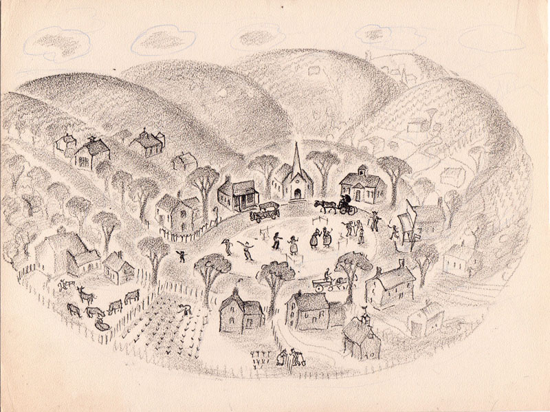 The Little Town of Popperville Study
