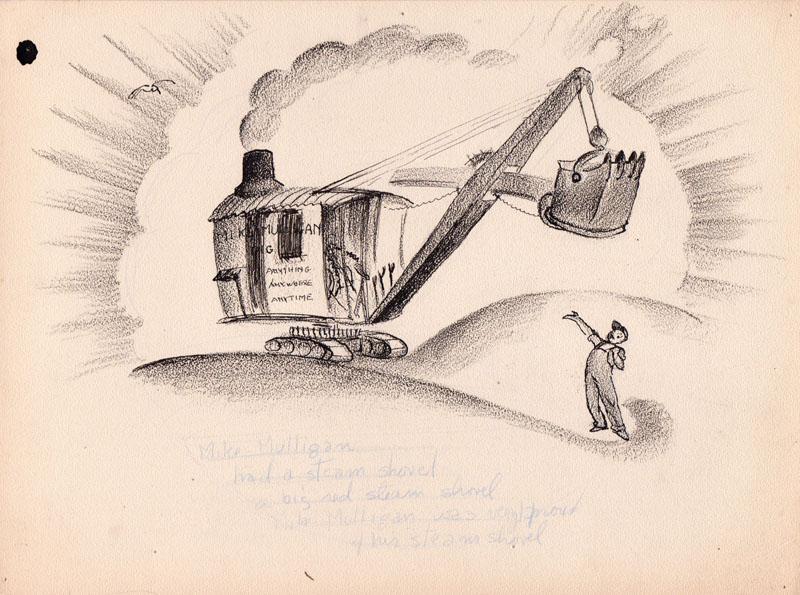 Mike Mulligan had a Steam Shovel Study