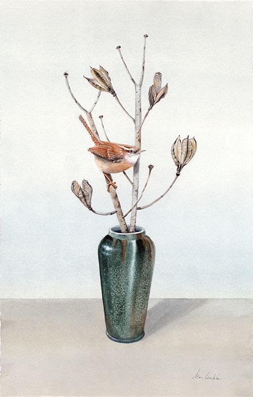 Wren with a Vase